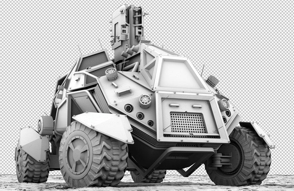 ambient occlusion vehicle