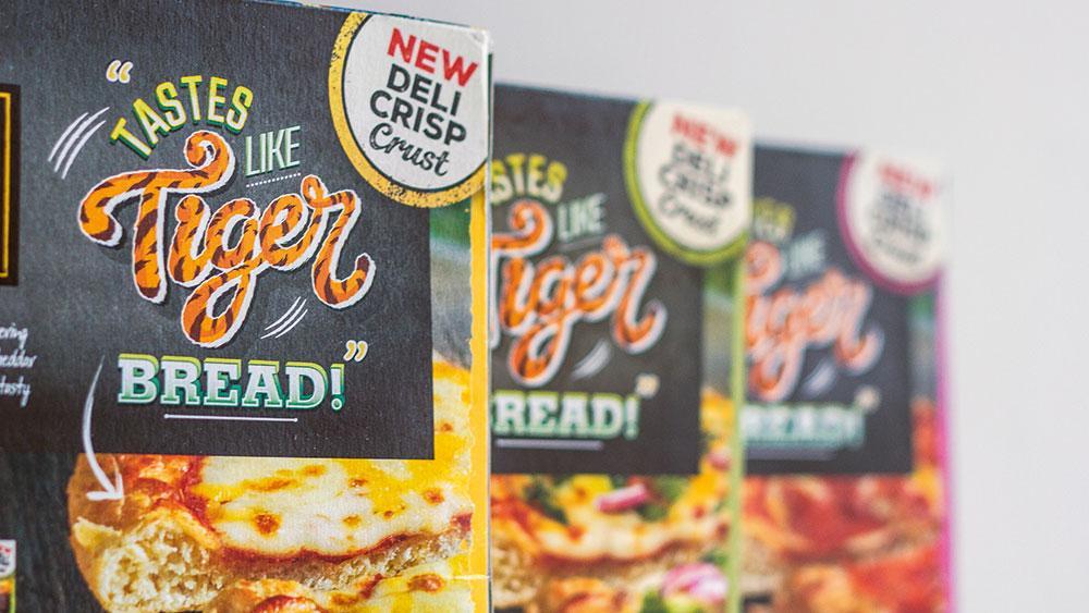 tiger bread pizza type