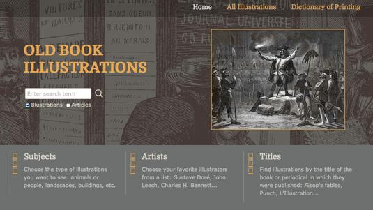 Old Book Illustrations home page