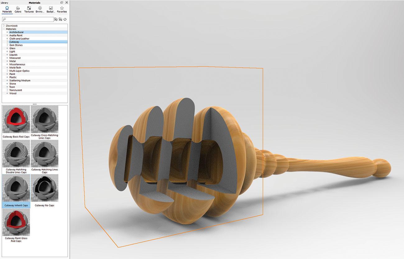KeyShot rendering tips: Cutaway