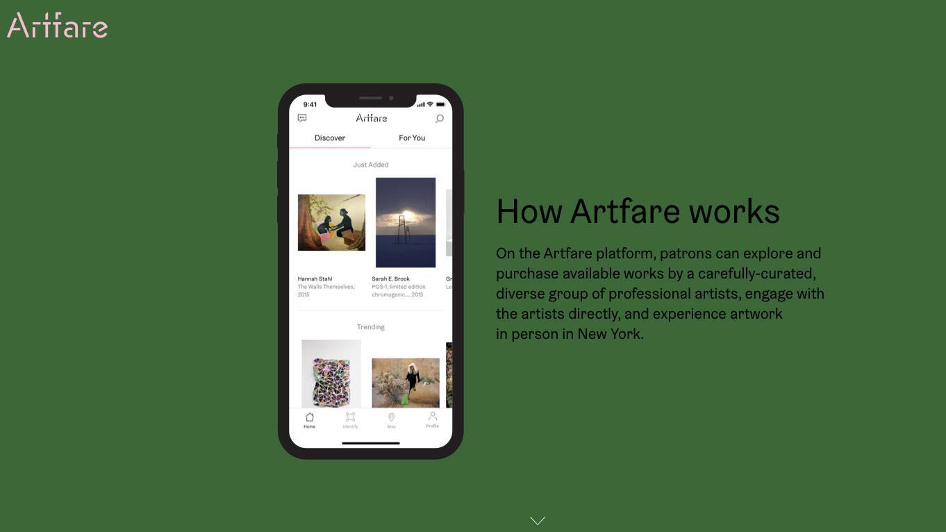 Artfare art apps