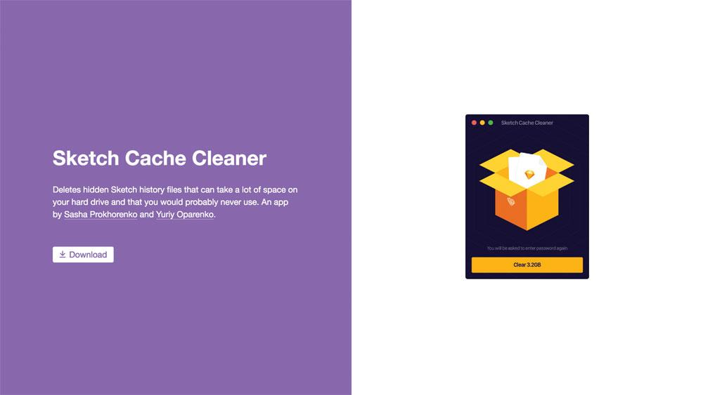 Sketch Cache Cleaner