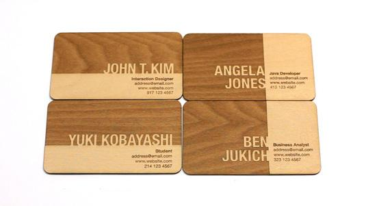 Business cards: John T. Kim
