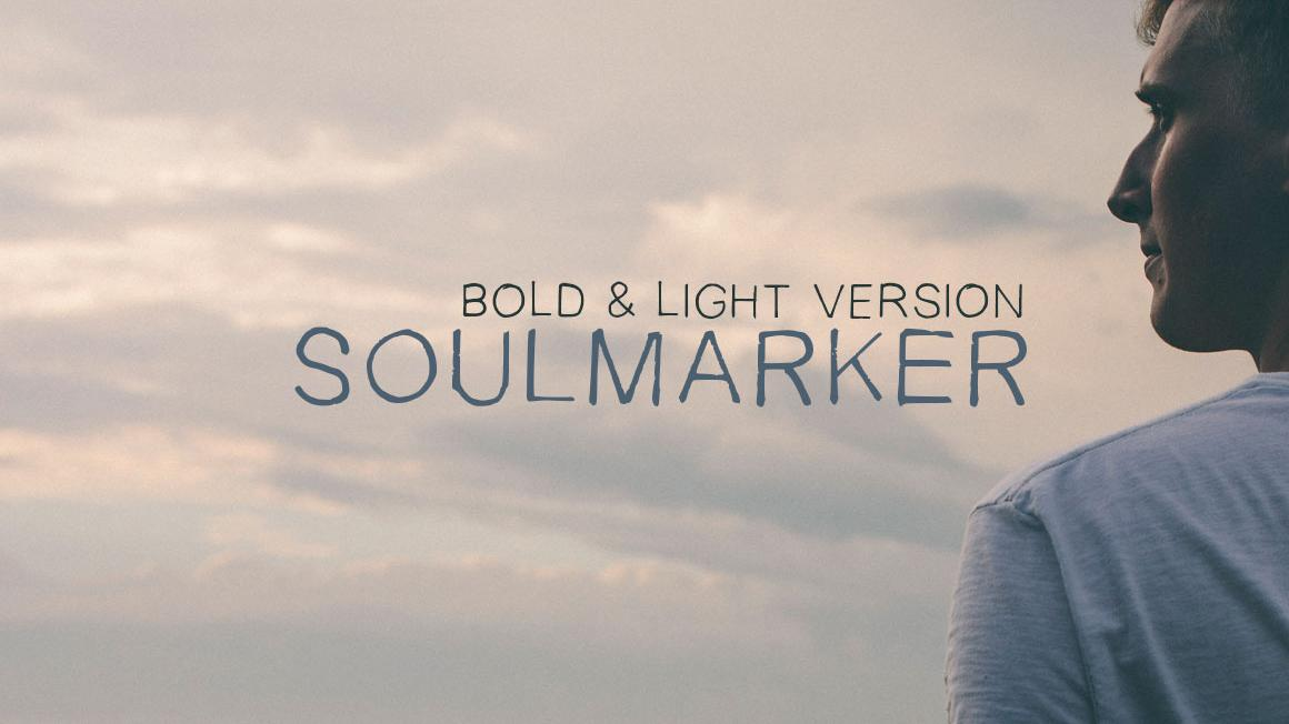 Free handwriting fonts: SoulMarker