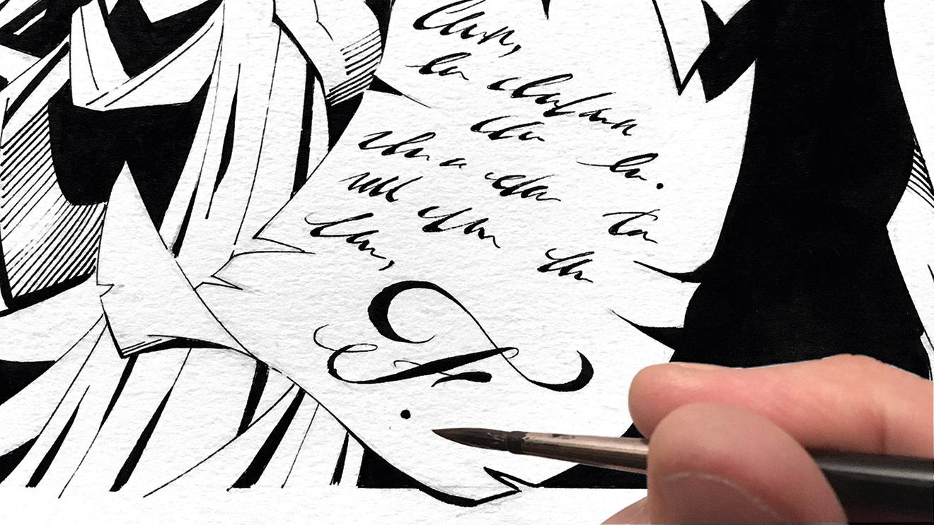Improve your line work: look with fresh eyes