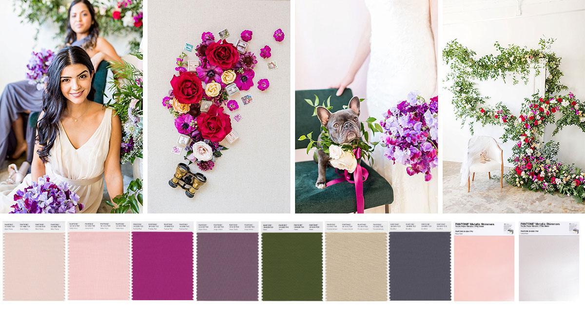 Wedding pantone In Bloom