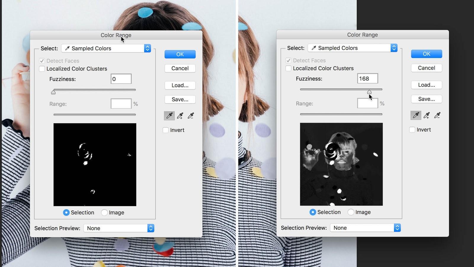 fuziness slider in Photoshop