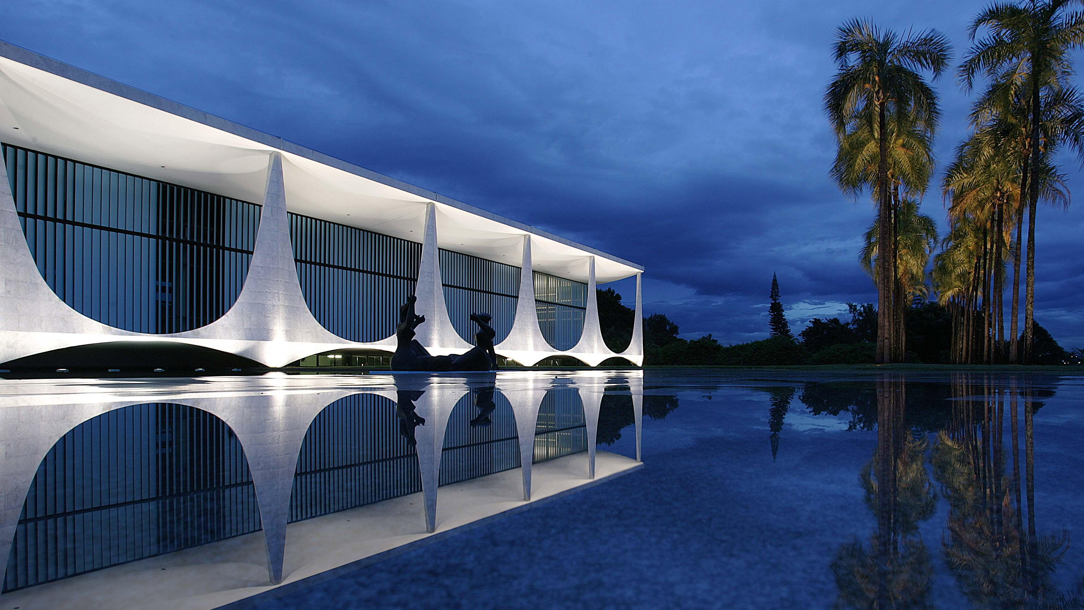 Mid-century modern design: Palacio da Alvorada