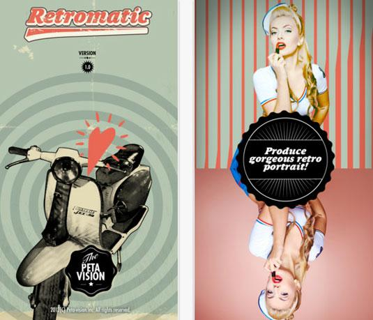Best photo apps: Retromatic
