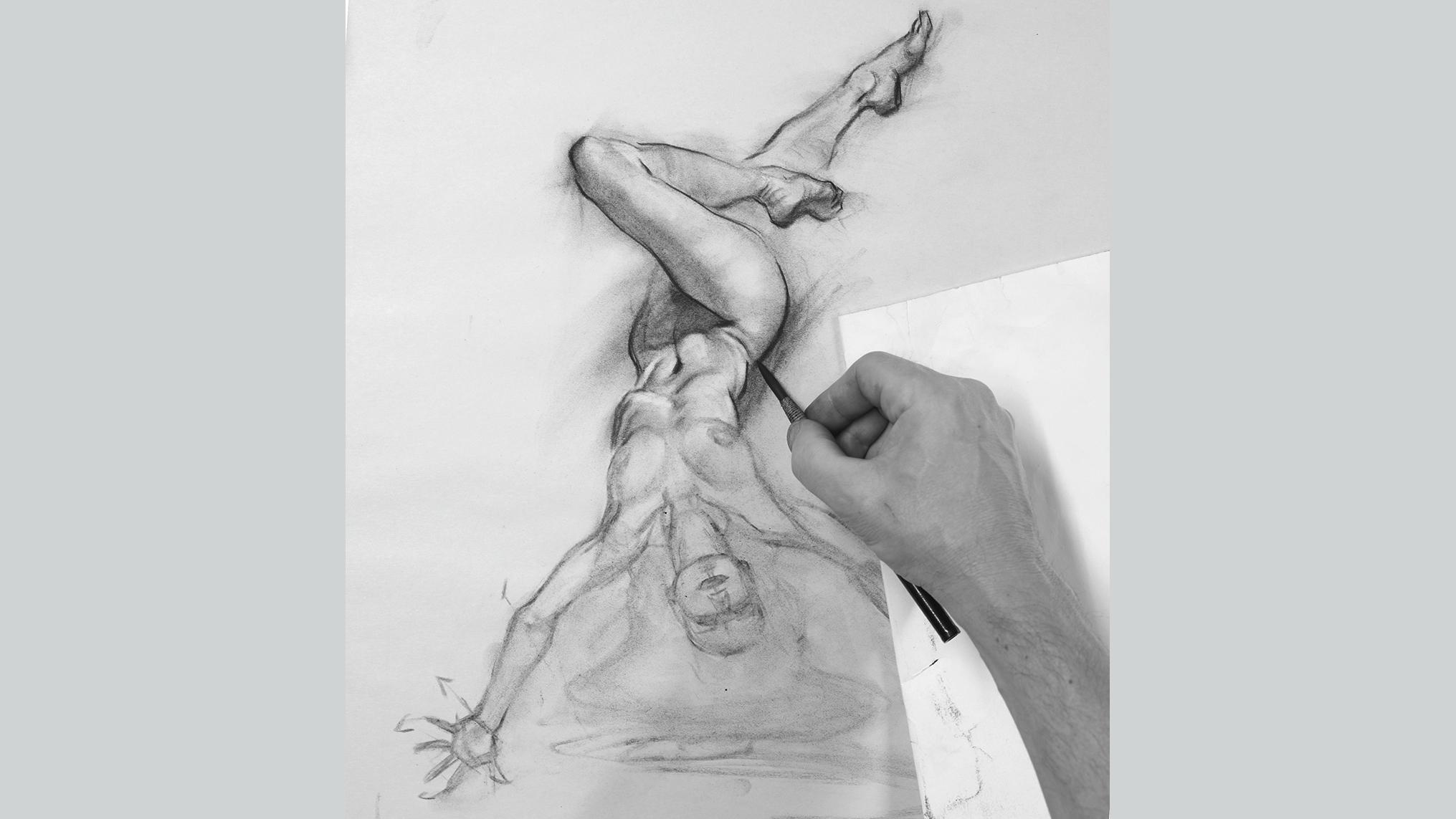 Learn to draw figures: Create movement