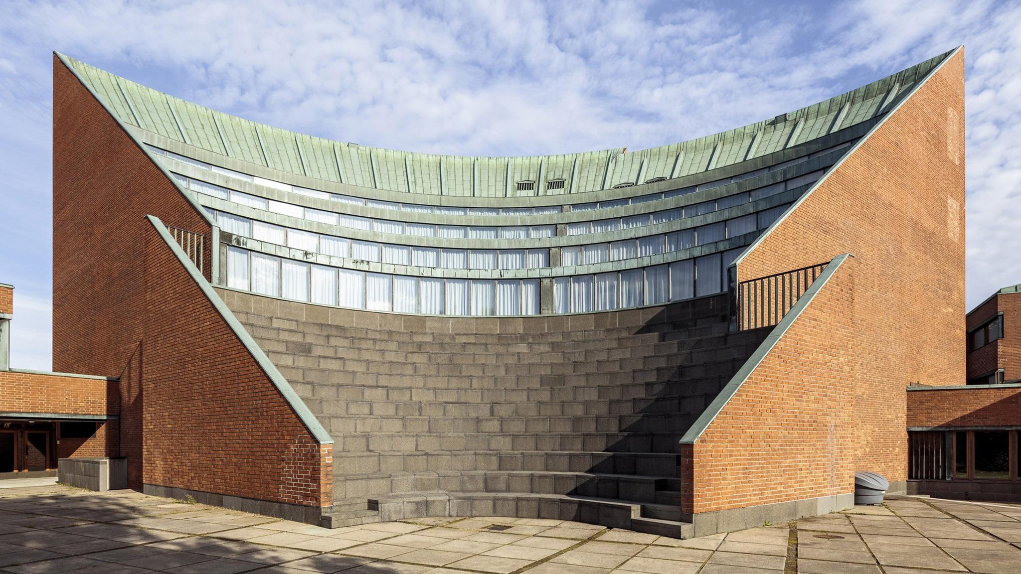 Mid-century modern design: Helsinki University