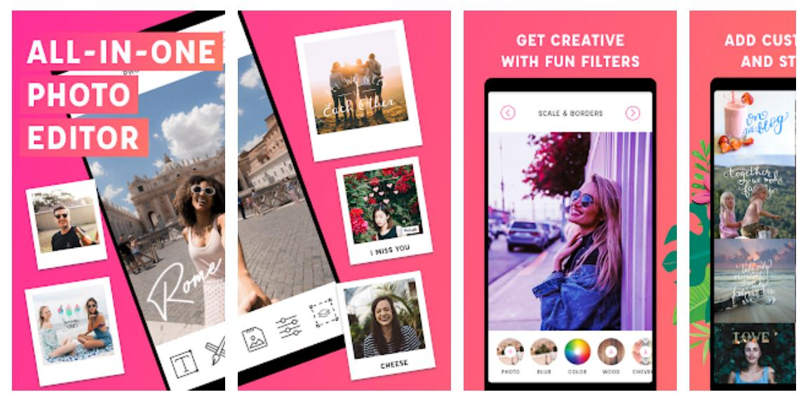 PicLab photo editor on smartphones