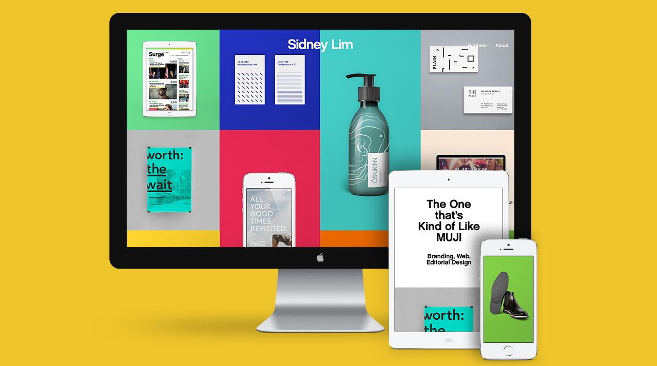 Sidney Lim's visual portfolio site