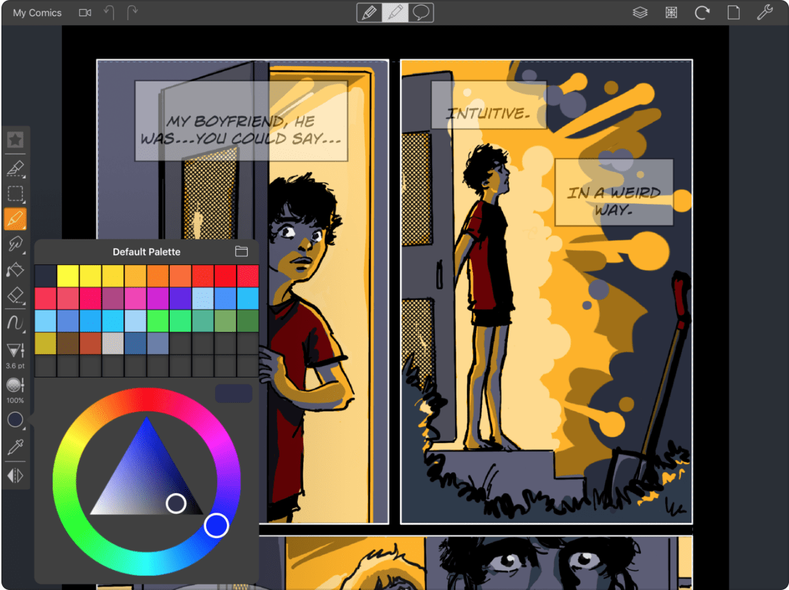 Comic Draw painting and drawing app