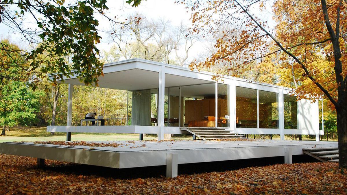 Mid-century modern design: Farnsworth House