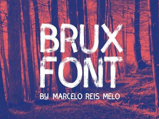 Brux font sample