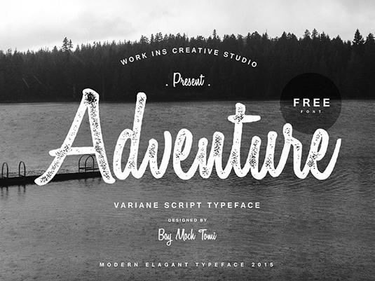 Free cursive fonts: Variane Script