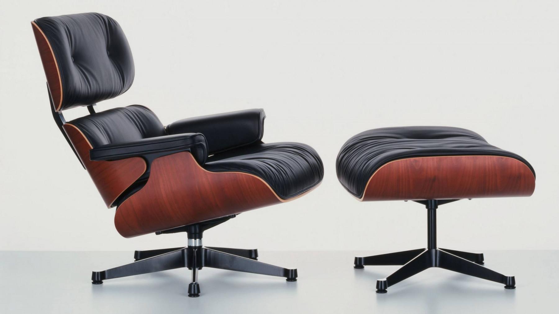 Mid-century modern design: Eames Lounge Chair
