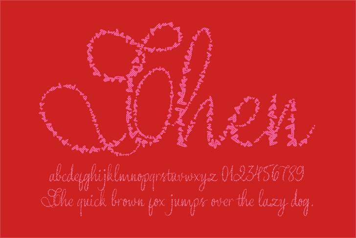 Free handwriting fonts: Yore