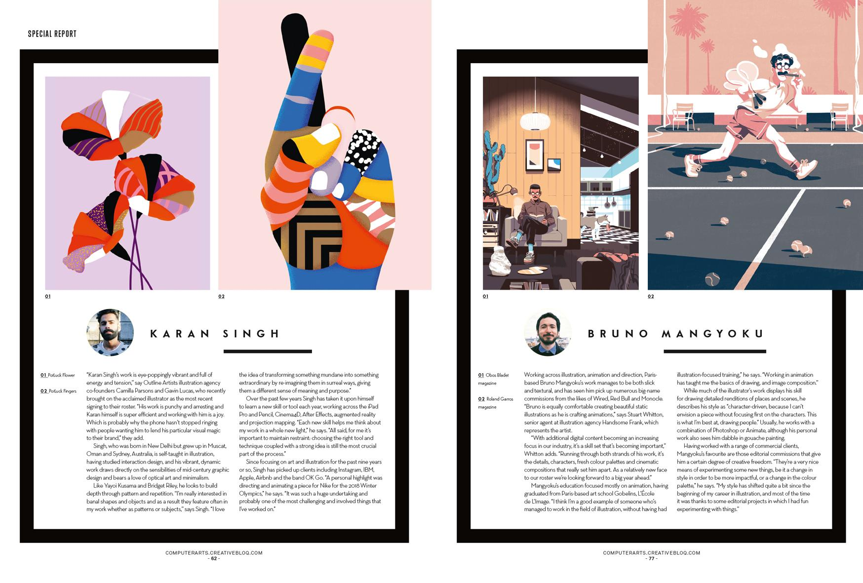 Our illustrator hotlist is bursting with talent