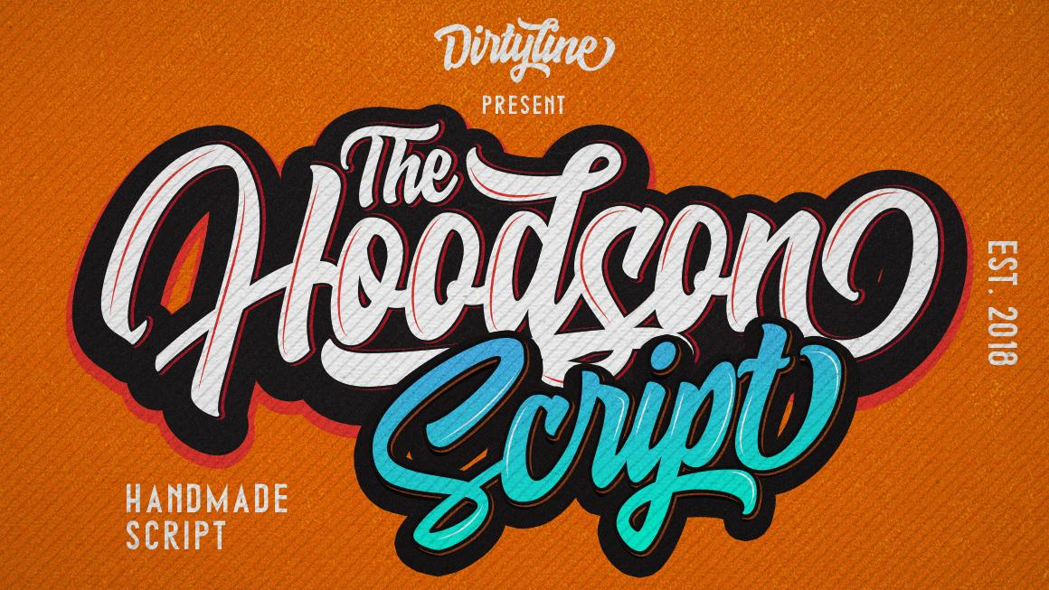 Sample of Hoodson script
