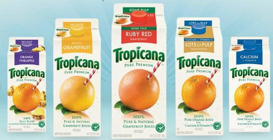Tropicana branding